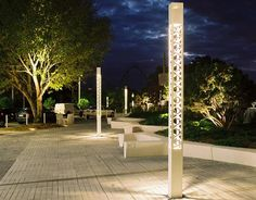 Light column / contemporary / for public spaces TREILLE Technilum