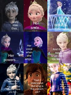Jelsa and Hiccup Part 3 Jack would never fall for rapunzel SHES MARRIED GET IT IN YOUR HEAD