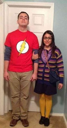 Halloween Costumes for Couples Sheldon and Amy from Big Bang Theory Halloween Costume More from my site The Couples Halloween Costume Ideas That Will Go Down In History – 14 Affordable & Cute DIY Halloween Costumes for Couples Halloween 2018, Baby Girl Halloween, Original Halloween Costumes, Couples Halloween, Unique Couple Halloween Costumes, Funny Couple Halloween Costumes, Best Couples Costumes, Halloween Costume Contest, Diy Halloween