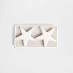 Bouton Meuble Céramique Étoile (Lot de 2) - Boutons Meuble - Décoration | Zara Home France
