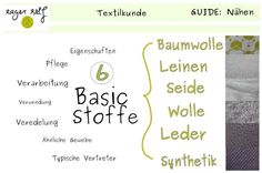 Welche Eigenschaften hat Baumwolle? Was ist beim Nähen zu beachten? Lies dies und mehr darüber in der Textilkunde Baumwolle.
