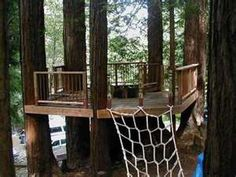 Getting ideas for our tree house deck