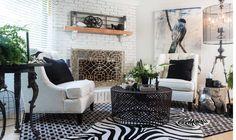 Interior design by Marie Hebson's interiorsBYDESIGNinc.
