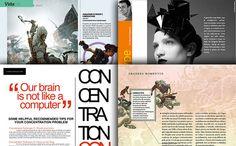 Inspirational Magazine Page Layouts