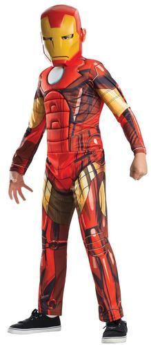 Avengers Assemble Deluxe Iron Man Child Costume