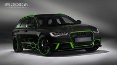 audi green hexagon | WrapStyle Company | Flickr