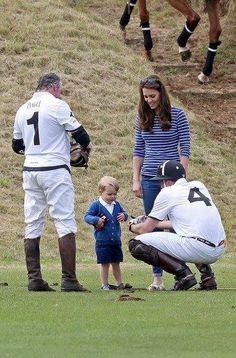 Prince William, Catherine, and Prince George