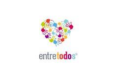 Entre todos - Fundación ONG / Desing by Plastilina Magenta #logo