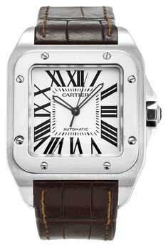 CARTIER SANTOS 100 W20073X8 MEN'S WATCH. Get the lowest price on CARTIER SANTOS 100 W20073X8 MEN'S WATCH and other fabulous designer clothing and accessories! Shop Tradesy now