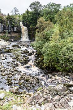 Ingleton Waterfalls in England's Yorkshire Dales