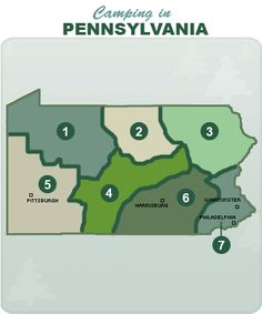 Camping in Pennsylvania...hmmm thats an idea I wouldn't pass up!!
