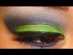 Seattle Seahawks Makeup Tutorial. I will be doing this for every game we go to!!