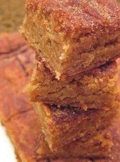 Cinnamon Sugar Bars