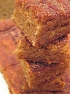 Cinnamon Sugar Bars