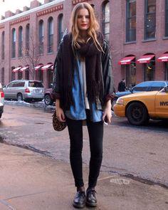 layered separates-- perfect for cold weather