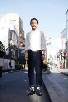 ストリートスナップ | 杉原博之 | boy CAMERA 美容師 | 原宿 (東京)