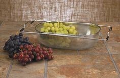 Over-Sink Precision Pierced Drainer with Expandable Side Arms - FARMcurious  #ediblecurious