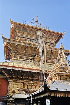 Temple d'or (Patan) Nepal                                                                                                                                                      Plus