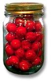 """Mason Jar Uses """"Hot balls in a Jar"""" by Deborah Dolen Excerpt of Kitchen Art's Collection on Kindle and Nook"""