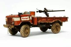 GAZ-66 Truck with a mounted recoilless rifle | 1:35 scale