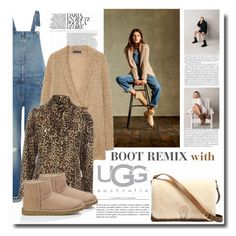 """""""Boot Remix with UGG : Contest Entry"""" by chixdejesus ❤ liked on Polyvore featuring UGG Australia, Levi's, Violeta by Mango and Jane Norman"""