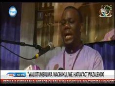 ZITO KABWE ASEMA WALIOTUMBULIWA WAWAJIBISHWE