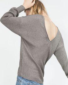 DOUBLE V-NECK SWEATER from Zara
