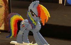 Lego Rainbow Dash. Wow!