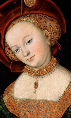 Lucas Cranach the Elder (1472–1553) Portrait of a Woman c. 1525, National Gallery