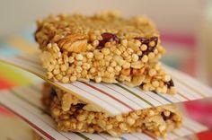 Quinoa bars recipe/ Barras de quínoa receta (español)