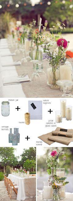 How to style a boho tablescape (budget boho) | SouthBound Bride www.southboundbride.com  Credit: The Nichols