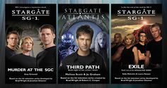 Stargate Week This week I'm bringing you reviews of 7 books linked with the Stargate TV series. I fell in love with the series back in 1994 when hubby and I were in New York. We decided to go…