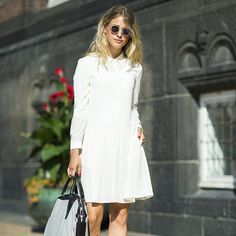 50 Amazing White Dresses to Wear All Summer: Like Memorial Day weekend BBQs, ice cream, and beach days, the white dress has come to signify Summer — and your wardrobe isn't complete till you've found the right one.