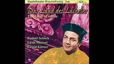 """Rudolf Schock in """"Das Land des Lächelns"""" Lehár"""