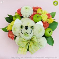 Oh my Fiesta Flowers!: Gatito con pompones. Mascotas florales.