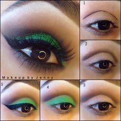 DIY -cut crease makeup pictorial!!!!!