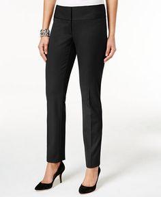 Alfani Slim Straight-Leg Pants, Only at Macy's