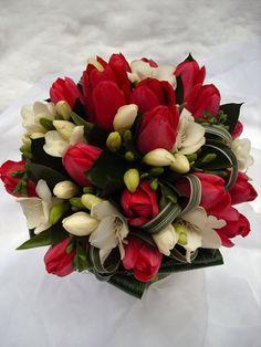 svatební kytice tulipány - Hledat Googlem