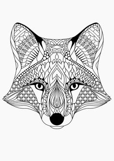 Free Printable Coloring Pages for Adults {12 More Designs}