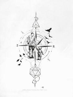 225 Compass Tattoos: Let A Compass Tattoo Guide Your Way! Forearm Tattoos, Body Art Tattoos, Hand Tattoos, Tattoos Skull, Ankle Tattoo, Love Tattoos, Small Tattoos, Tattoos For Guys, Tatoos