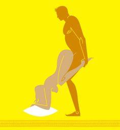 Position sexuelle osée : à ses pieds