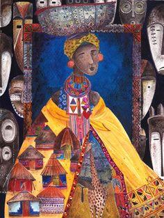 kürti andrea #illustration #africa