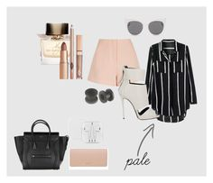 """""""pale"""" by camillastefan1 on Polyvore featuring moda, Finders Keepers, Giuseppe Zanotti, DKNY, Burberry e Blanc & Eclare"""