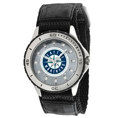 Seattle Mariners MLB Mens Veteran Series Watch