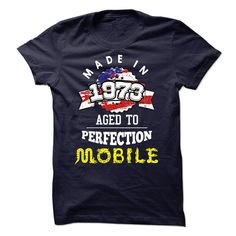 (New Tshirt Design) MADE IN 1973 aged to perfection Mobile [Tshirt Sunfrog] Hoodies, Tee Shirts