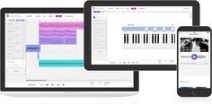 Make music online by recording vocals, guitars and more. Invite friends to collaborate. It's free and no download is required.