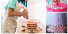 7 Secrets from the World's Most Bada$$ Baker - How to make vibrant drip-design cakes like Katherine Sabbath