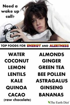 Foods for energy and alertness. Eating for Beauty CAdette Badge
