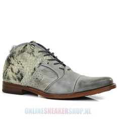 Rehab Lace-up Shoes Sultan Snake Grey - Men's Shoes -    http://www.onlinesneakershop.nl/mens-shoes-rehab-rehab-lace-shoes-sultan-snake-grey-p-2341.html