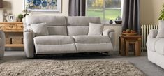 The La-Z-Boy Indiana 3 seater manual recliner sofa combines soft chenille fabric and foam seat interiors as standard. Buy online now at ScS. Sectional Sofa With Recliner, Reclining Sectional, Couches, Scs Sofas, Cozy Family Rooms, Fabric Sofa, Chenille Fabric, La Z Boy, Home Theater Seating
